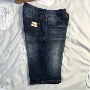 NWOT Girls Hudson Denim Shorts Size 16